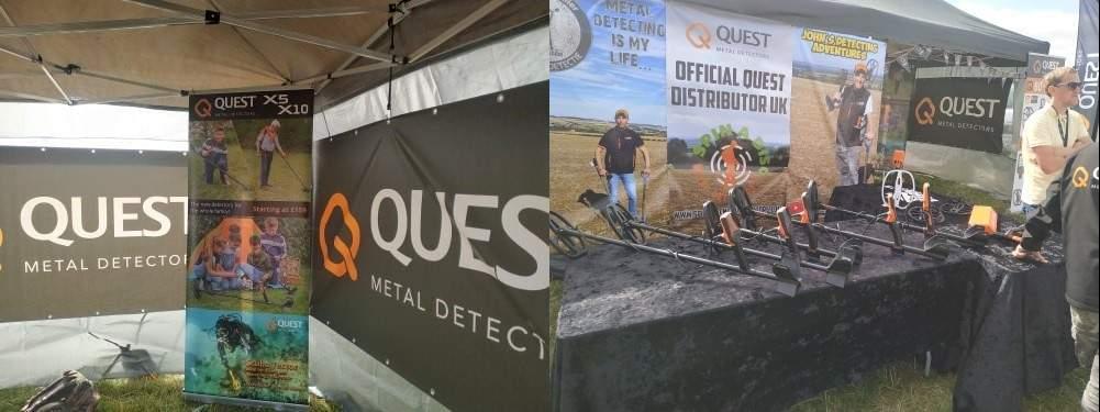 Quest спонсор главного фестиваля копателей в Европе